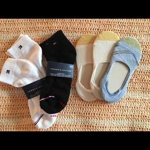 6 pair bundle TOMMY Hilfiger & Gold Toe socks